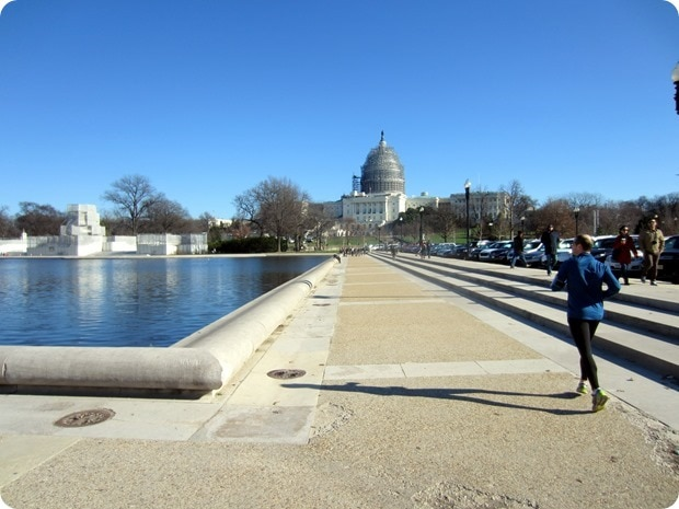 running the national capital