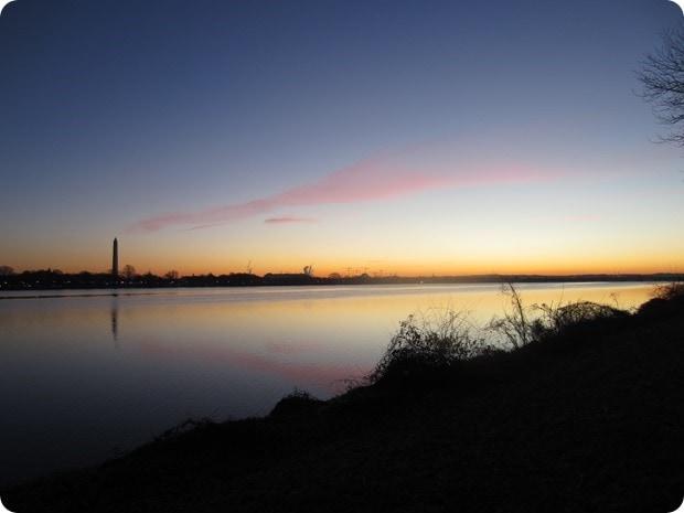 mt vernon trail sunrise