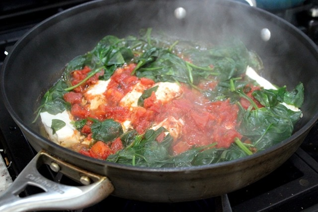 Fast Easy Tomato Chicken Dinner