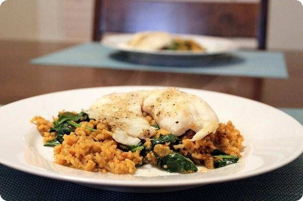 fast easy tilapia dish