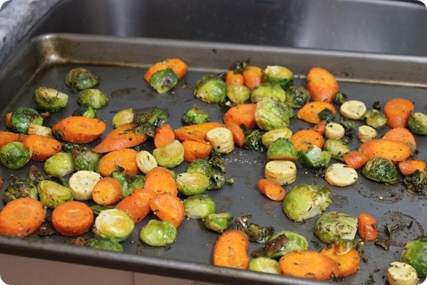 delicious roasted veggies recipe