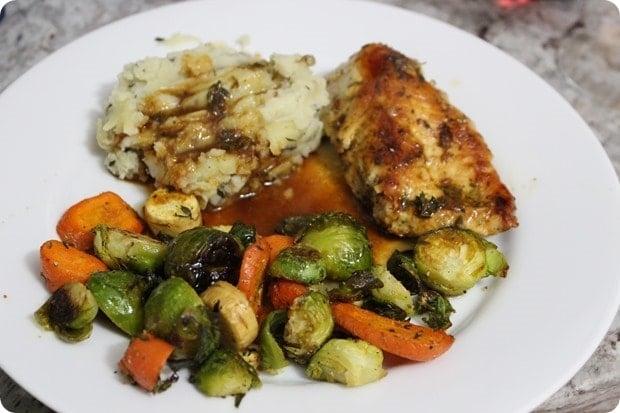 roasted chicken sauce