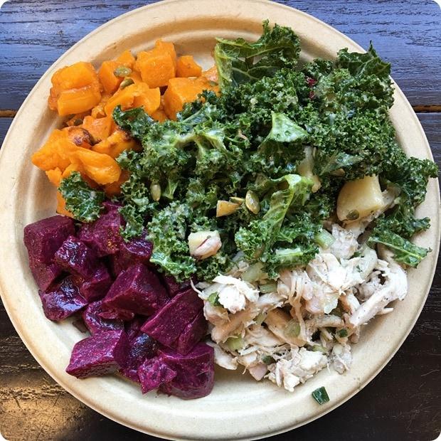 glens garden market lunch plate