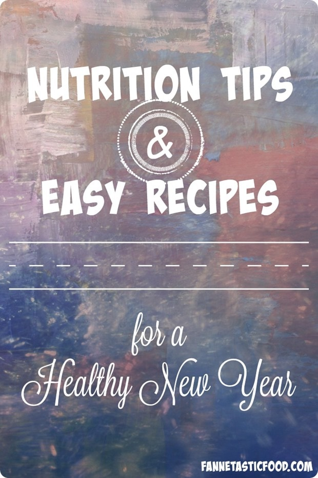 nutrition tips for the new year