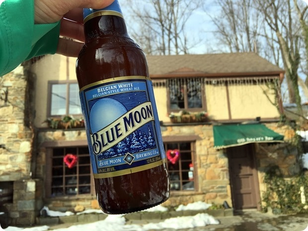 blue moon after a hike