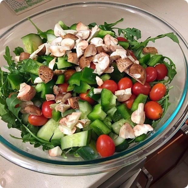 easy homemade salad