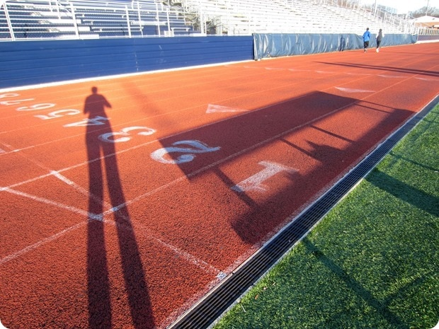 washington lee high school track workout