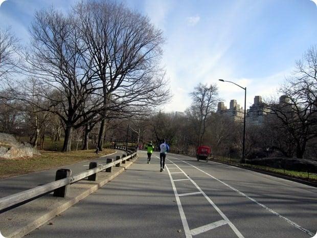 running in central park
