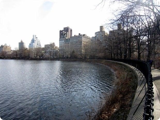 running in central park reservoir
