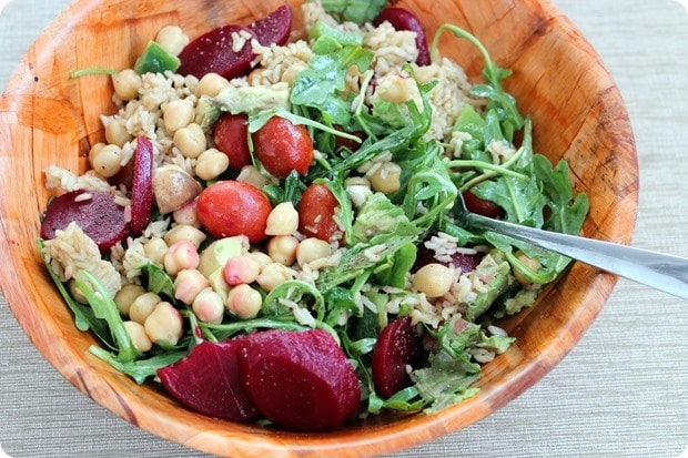 how to make a grain salad