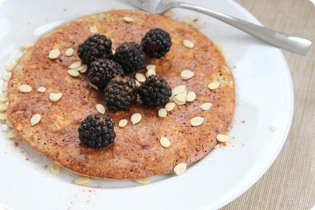 high protein breakfast pancake