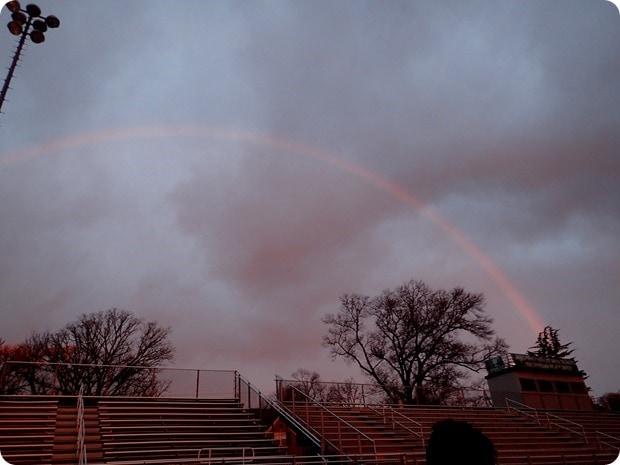 track workout rainbow