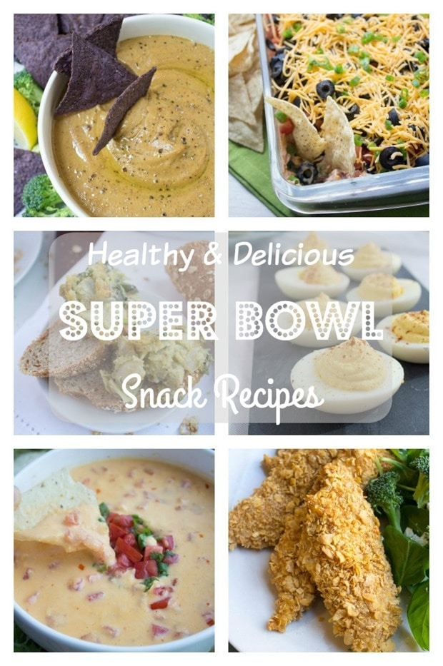 healthy super bowl snack recipes_