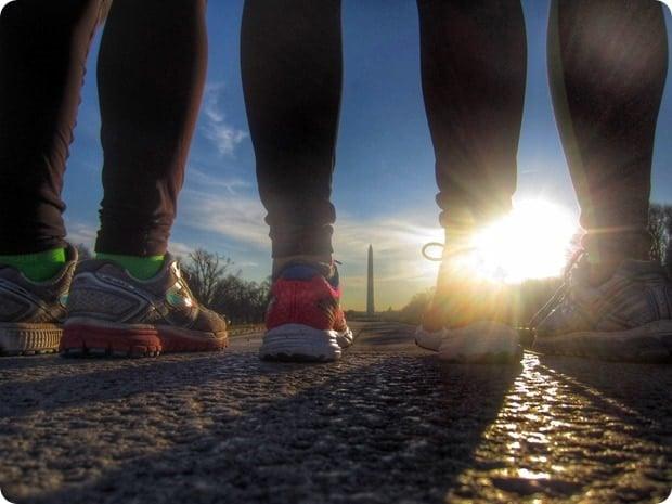 sunrise lincoln memorial run