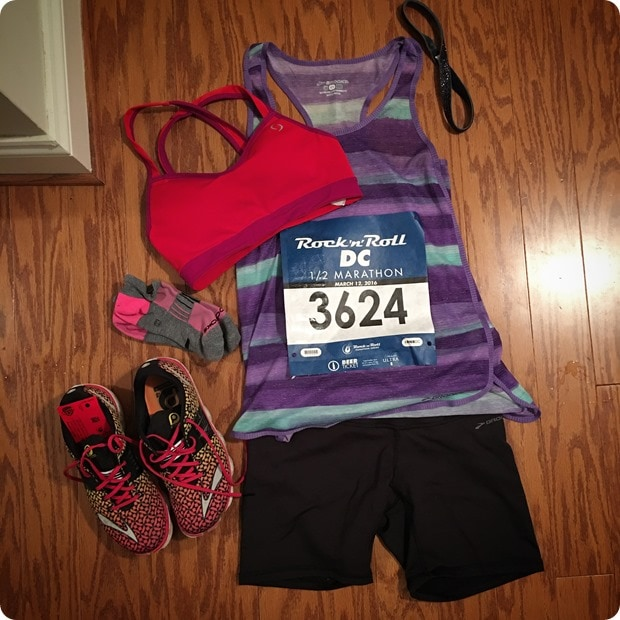 what to wear for a half marathon