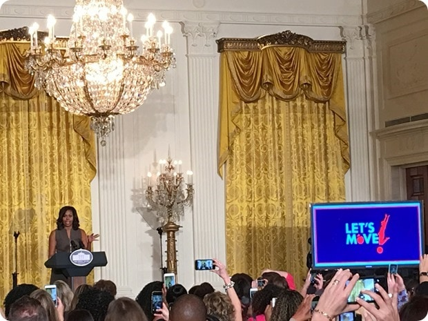 first lady lets move speech