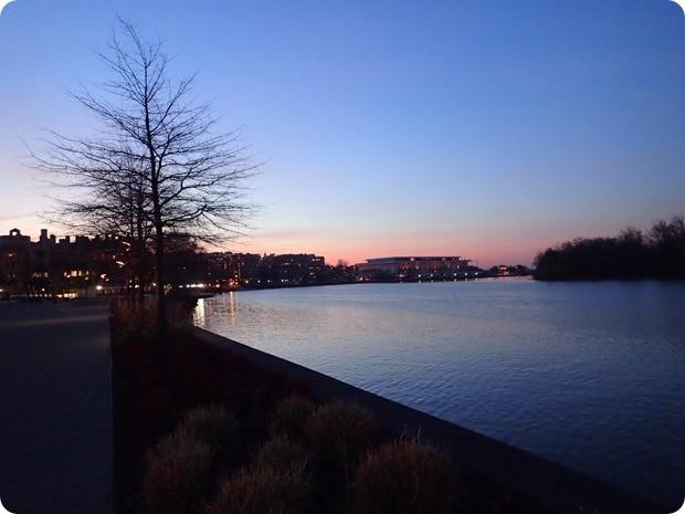 georgetown running sunrise