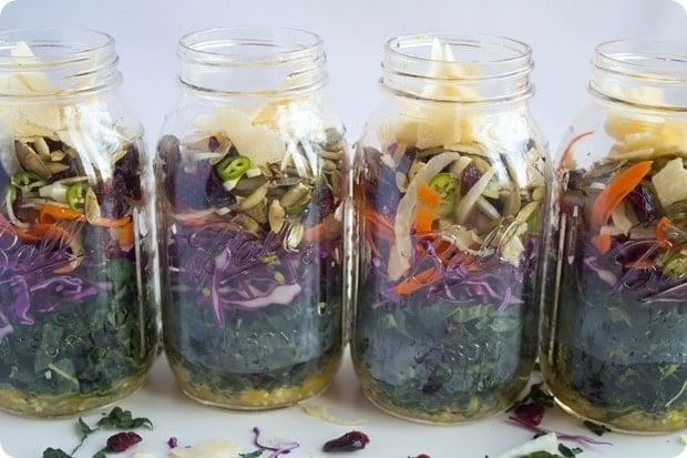 kale salad step 8