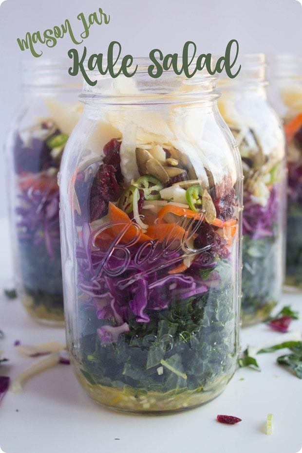mason jar kale salad recipe