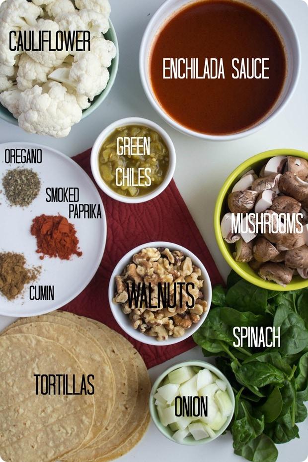 walnut enchiladas ingredients