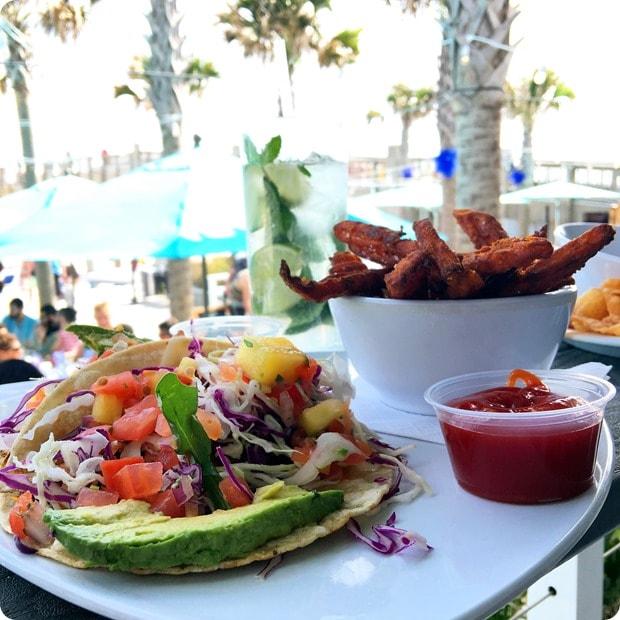 casino beach bar grille fish tacos