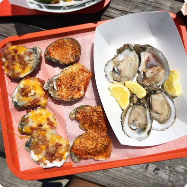 flora-bama oysters