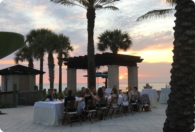 sarasota ritz beach club dinner