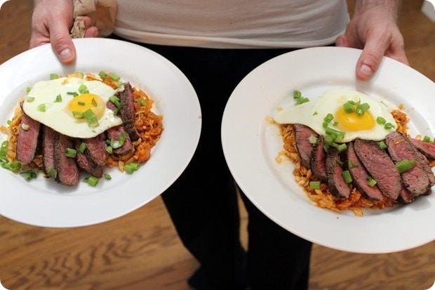 healthy steak and eggs recipe