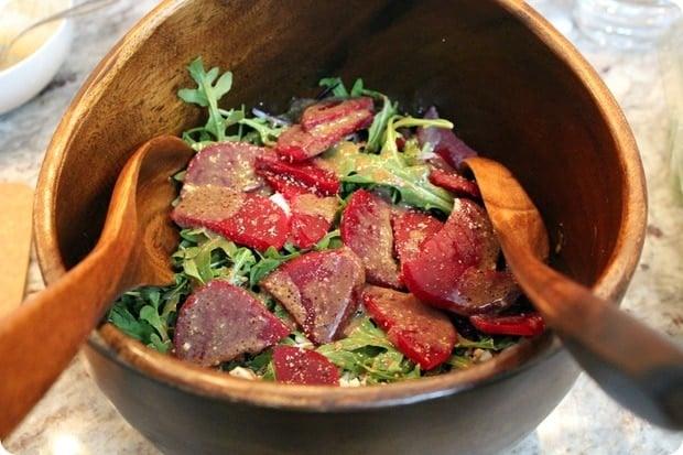 easy homemade beet salad