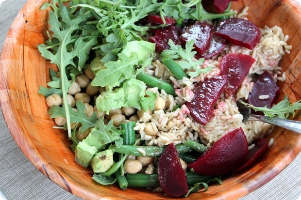 grain salad bowl