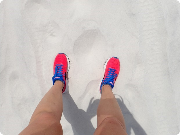 running in sand is hard