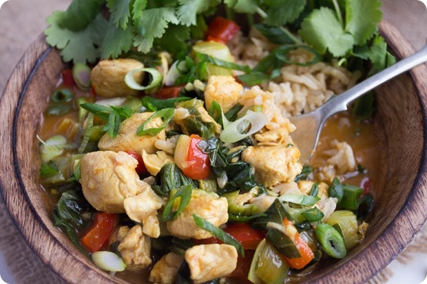 easy coconut curry 6