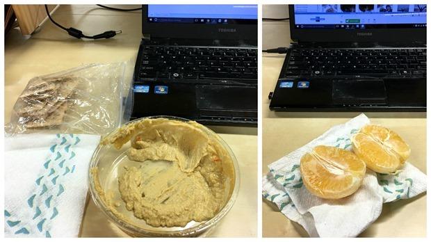 easy portable office snacks