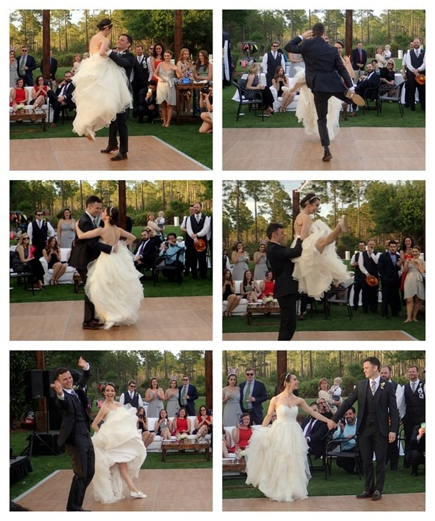 wedding first dance choreographed