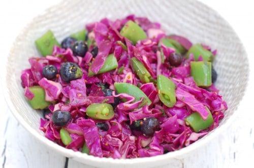 ... Braddock – Grilled Chicken, Cantalope Salad + Blueberry Vinegrette