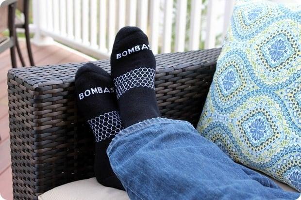 bombas mens calf socks