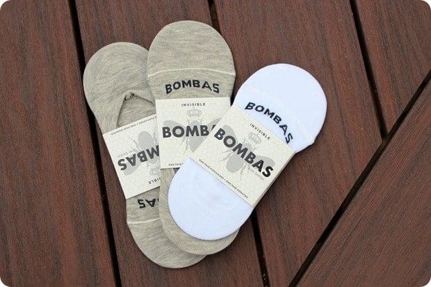 bombas invisible socks