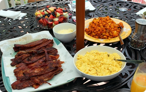 mothers day brunch at home