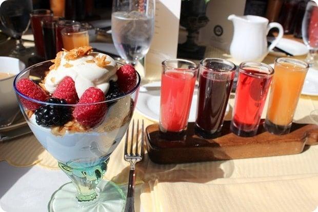 inn at little washington breakfast