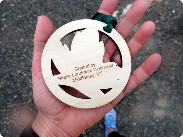 middlebury maple run race medal