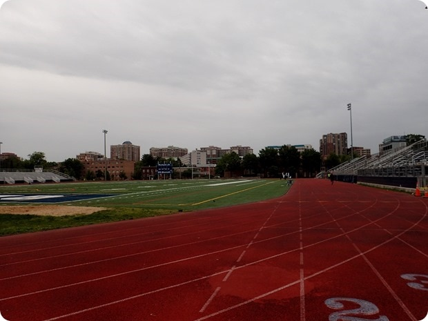 track tuesday workout
