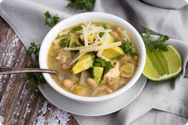 creamy mexican chicken chili 5