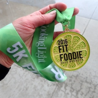 fit foodie 5k race recap