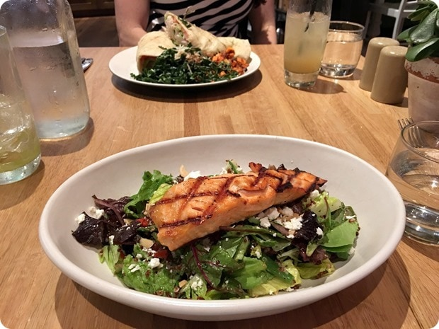 true food kitchen salmon salad