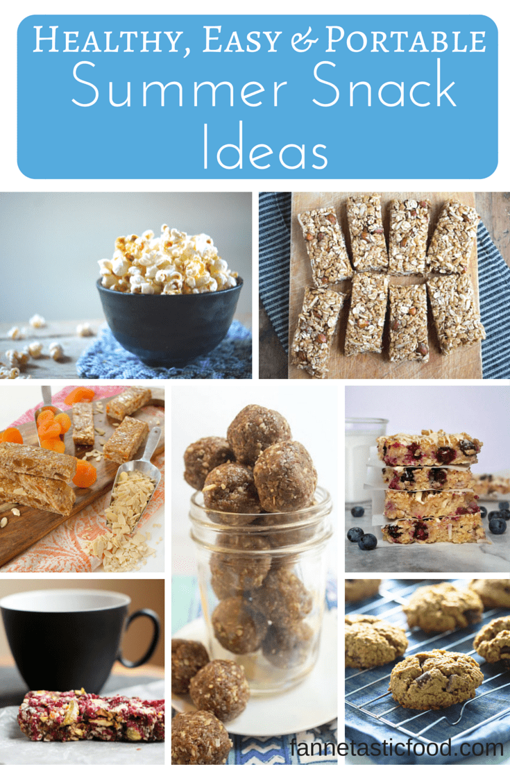 Healthy and easy portable snack ideas