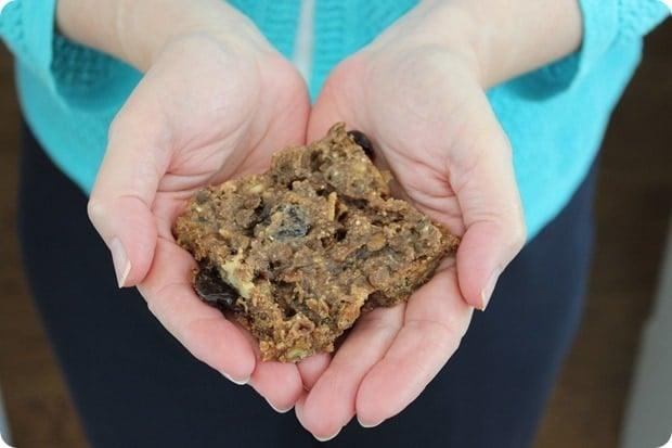 red lentil granola bar