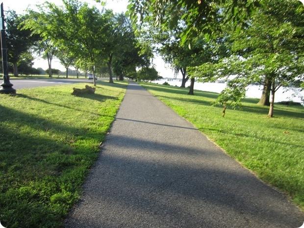 georgetown waterfront park running