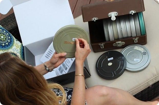 transfer old film to digital