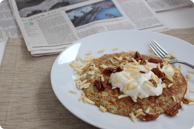 flour free breakfast pancake recipe