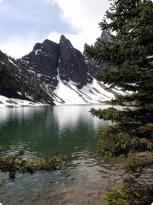 beehive lake banff